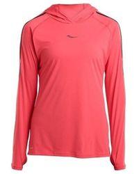 Saucony UV Lite T-shirt - Rouge