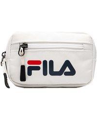 Fila Riemen-Tasche Mit Logo - Weiß