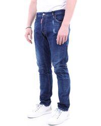 DSquared² Skinny Jeans S74lb0760s30342 - Blauw