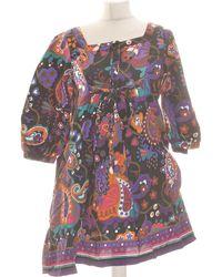 H&M Robe Courte 36 - T1 - S Robe - Noir