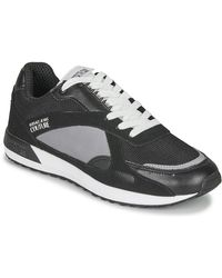 Versace Jeans Lage Sneakers Eoyvbsr4 - Zwart