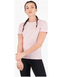 Champion - T-shirt Korte Mouw T-shirt Met Ronde Hals Van (112605) - Lyst