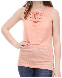 Sun Valley Camiseta tirantes - Naranja