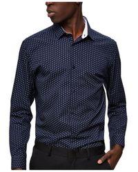 SELECTED Camisas - Azul