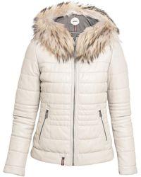 Oakwood Women's Jacket In Beige - Natural