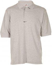 Nike - Polo Gris (taille US voir description) Polo - Lyst