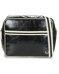 Fred Perry Schoudertas Classic Shoulder Bag - Zwart