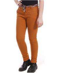 Teddy Smith Pantalones - Naranja