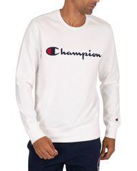 Champion Sweat-shirt Sweat-shirt graphique - Blanc