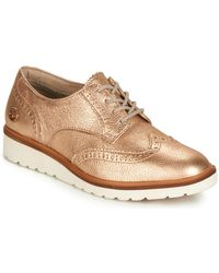 Timberland Zapatos Mujer ELLIS STREET OXFORD - Rosa