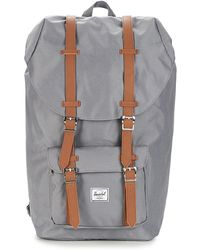 Herschel Supply Co. Little America Mid-volume (polka Cameo Rose/rubber) Backpack Bags - Grey