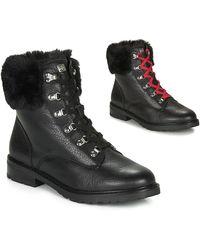Lauren by Ralph Lauren Laarzen Lanescot-boots-waterproof - Zwart