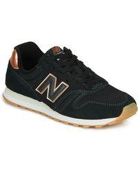 New Balance Lage Sneakers 373 - Zwart