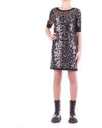 Love Moschino Robe courte WS29R11X1306 - Métallisé