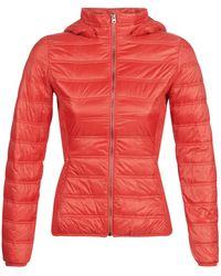 Benetton - Saraha Women's Jacket In Red - Lyst