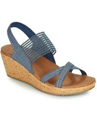 Skechers Sandalen Beverlee High Tea - Blauw