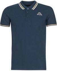 Kappa Polo Shirt Korte Mouw Esmo - Blauw