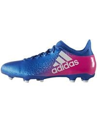 adidas X 16+ Purechaos FG hommes Chaussures de foot en bleu
