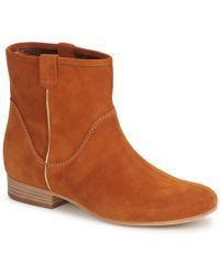 Vic Matié - Mui Women's Mid Boots In Brown - Lyst