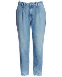 Teddy Smith ADELE LOOSE Jeans - Bleu