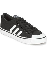 adidas Lage Sneakers Nizza - Zwart
