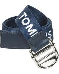 Tommy Hilfiger Riem Tjw Essential Webbing Belt 3.5 - Blauw