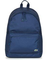 Lacoste Rugzak Neocroc Backpack - Blauw