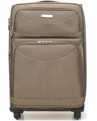 Ciak Roncato 43.04.01 Soft Suitcase - Brown