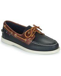 Sebago Bootschoenen Portland Waxy Lea - Blauw