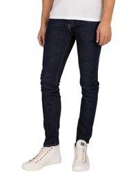 Jack & Jones Jack Jones Jean skinny Liam Original 074 Jeans - Bleu