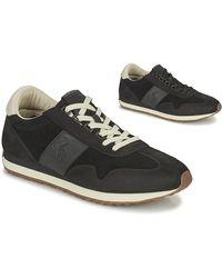 Polo Ralph Lauren Lage Sneakers Train 90-sneakers-athletic Shoe - Zwart