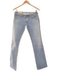 Le Temps Des Cerises Jean Bootcut Femme 36 - T1 - S Jeans - Bleu