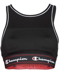 Champion Brassières de sport TANK FASHION BRA - Noir