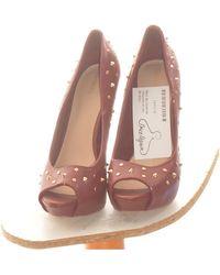 Bershka Paire D'escarpins 37 Chaussures escarpins - Rouge