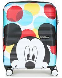American Tourister Reiskoffer Mickey Close Up 55cm 4r - Meerkleurig