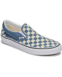 Vans Instappers Classic Slip-on - Blauw