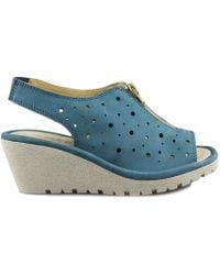 The Flexx - Louis Jorge Women's Sandals In Blue - Lyst