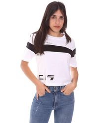 EA7 Camiseta 3KTT05 TJ9ZZ - Blanco