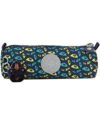 Kipling Trousse 1 compartiment BACK TO SCHOOL 110-00001373 garcons Trousse en bleu