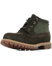 Timberland Nellie Chukka Double Boots - Marron