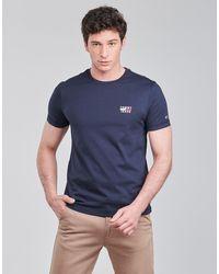 Tommy Hilfiger TJM CHEST LOGO TEE T-shirt - Bleu