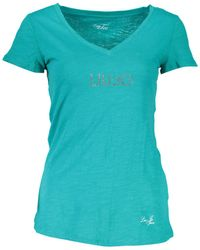 Liu Jo WXX019 JC698 T-shirt - Vert