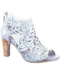 Laura Vita Alcbaneo Bleu femmes Chaussures escarpins en bleu