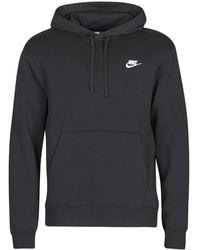 Nike Felpa M Nsw Club Hoodie Po Bb - Nero