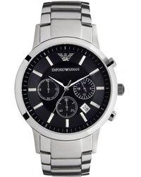 Armani Horloge Ar2434 - Metallic
