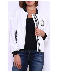 Cendriyon Manteaux Blanc Vêtements Femme Manteau