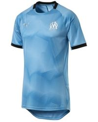 PUMA Olympique Marseille Graphic Shirt - Blu