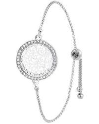 Sc Crystal Bracelets B1809 - Métallisé