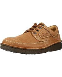 Clarks Nature II Sneaker - Braun