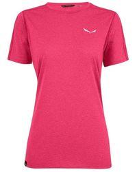 Salewa Pedroc 3 Dry W T-shirt - Rose